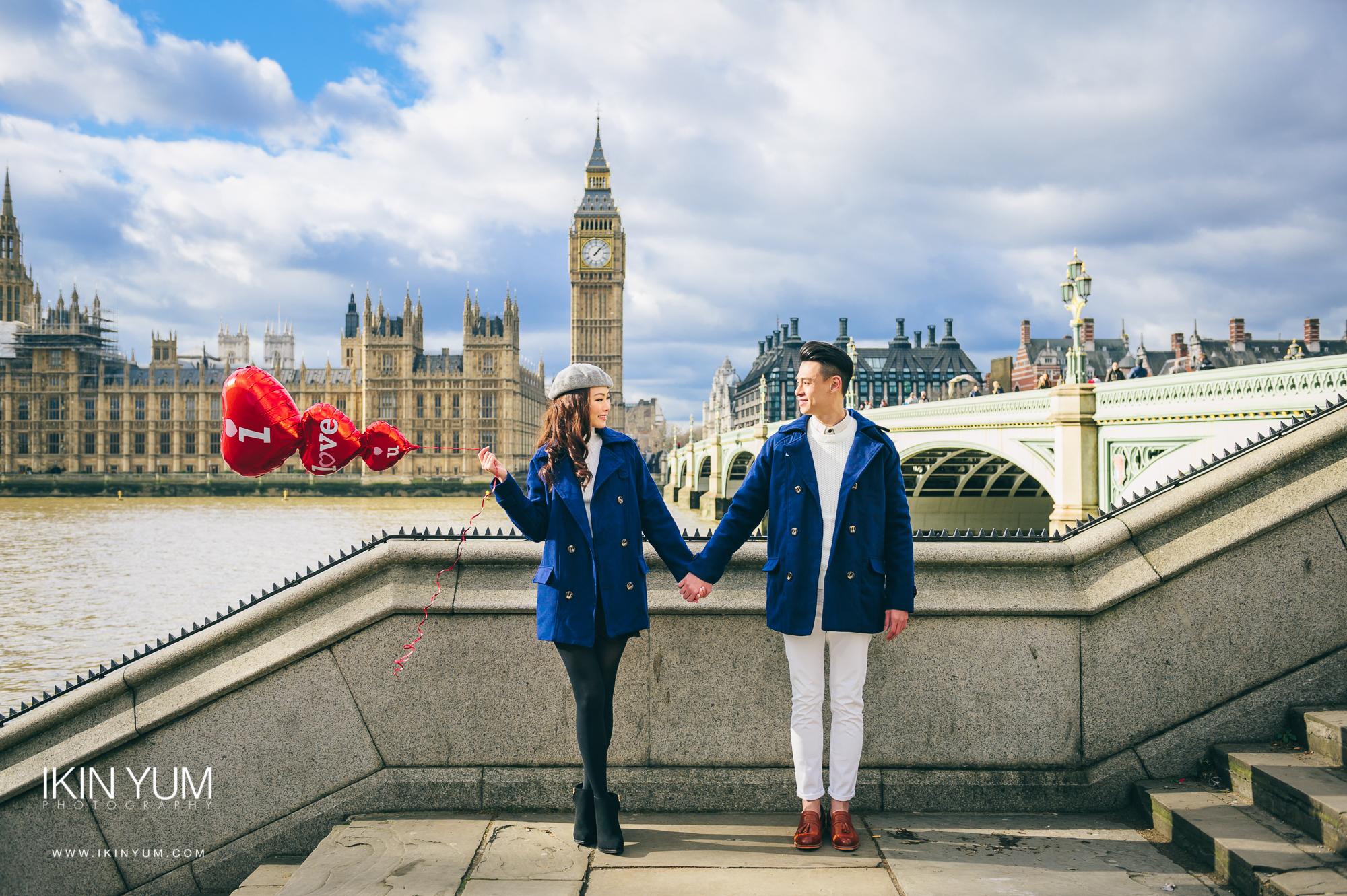 Pre-Wedding Shoot - London - Big Ben -  英国伦敦婚纱摄影