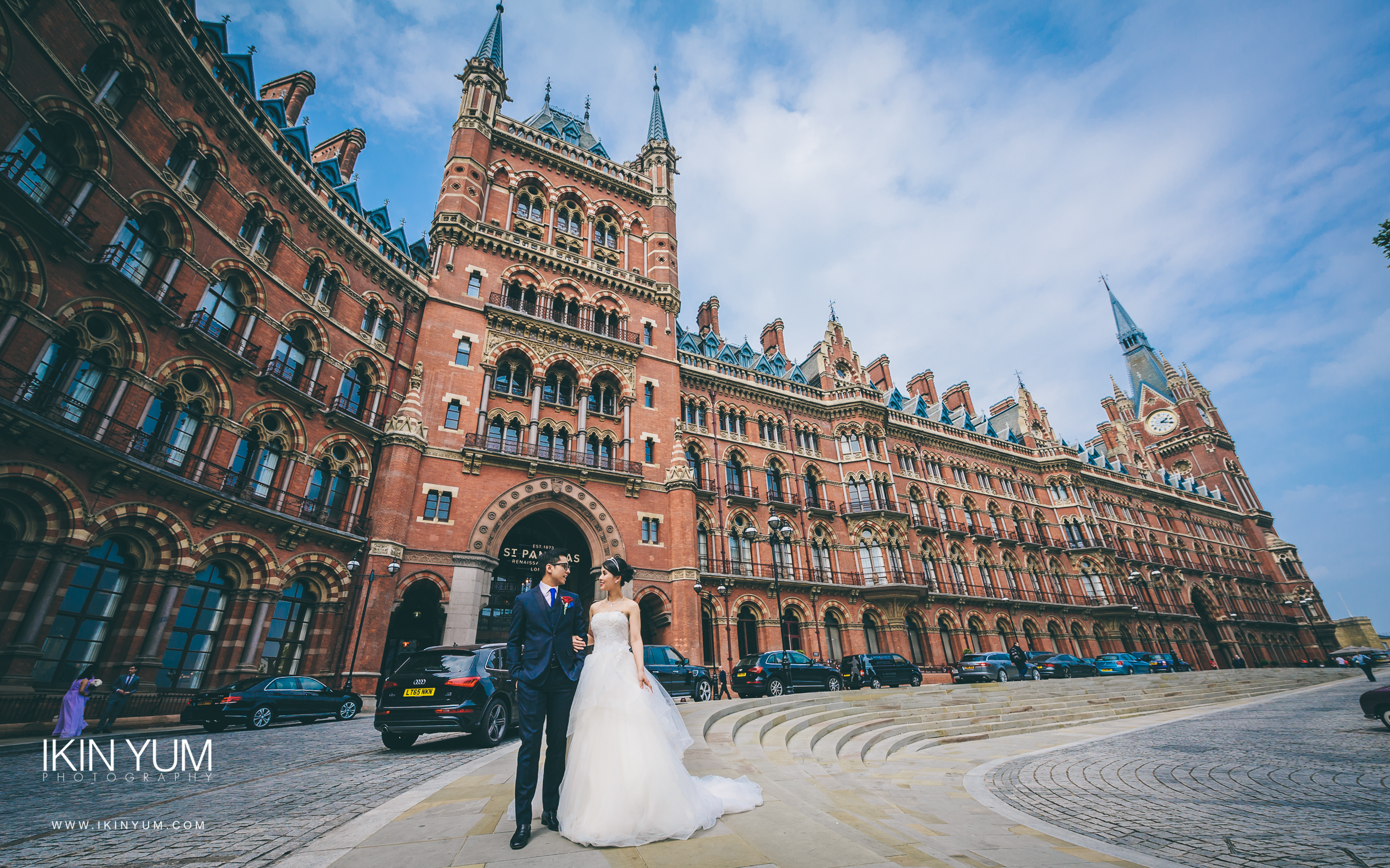St Pancras Renaissance Hotel - Wedding - Ikin Yum Photography-061.jpg