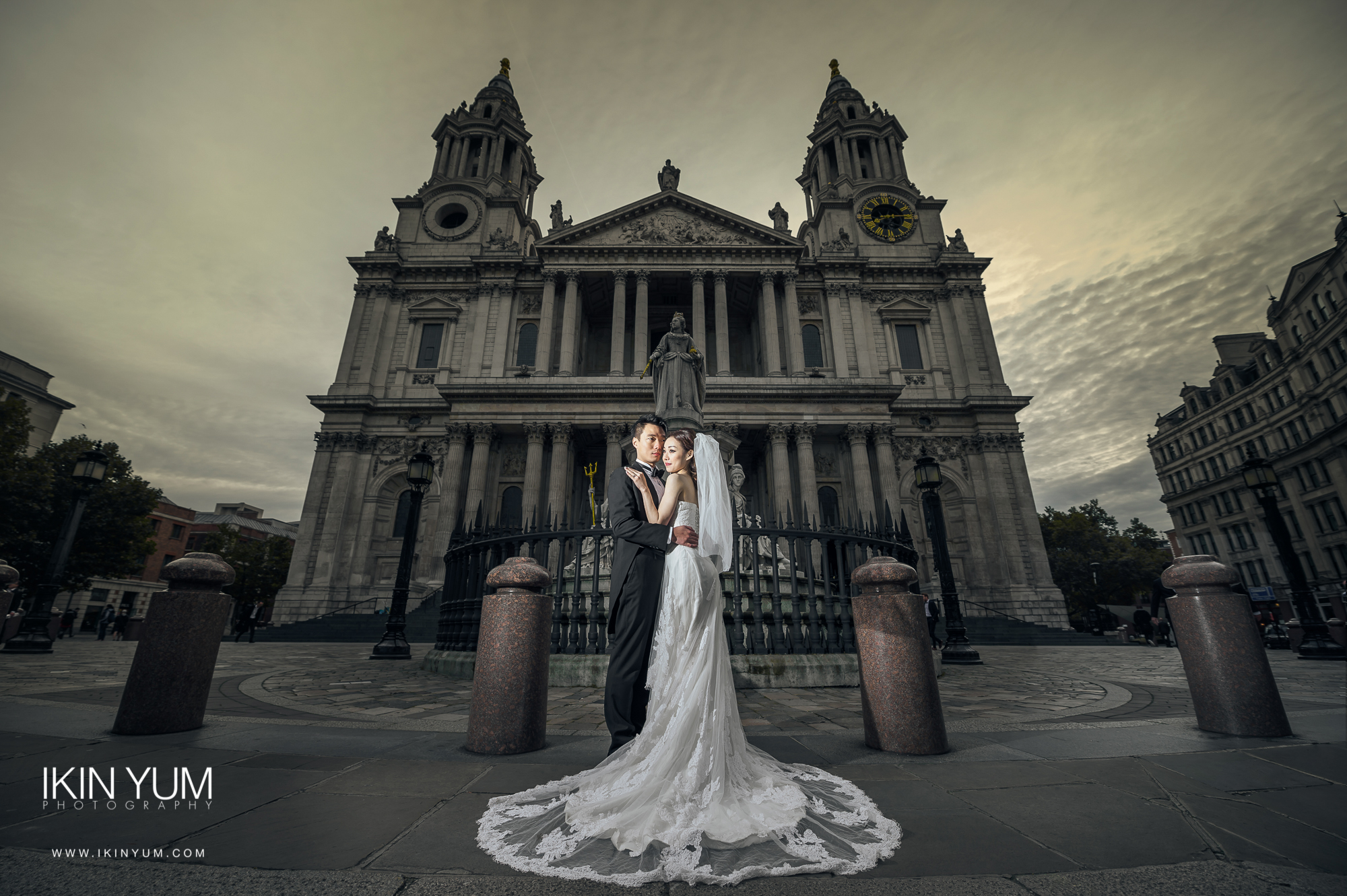 London Pre-Wedding Shoot - St Paul - London -  英国伦敦婚纱摄影  - Chinese wedding Photographer