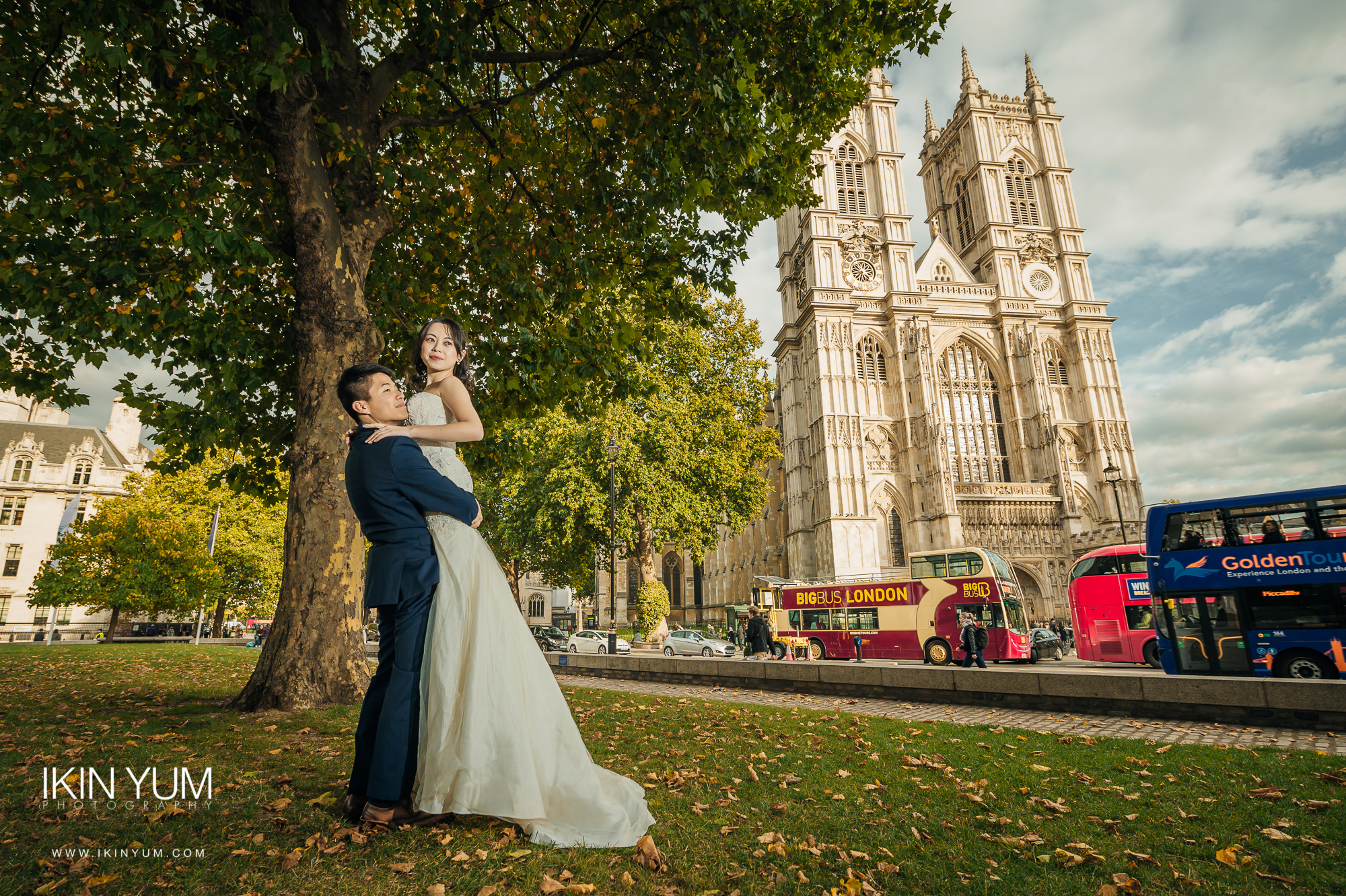 London Pre-Wedding Shoot - Westminster Abbey -  英国伦敦婚纱摄影