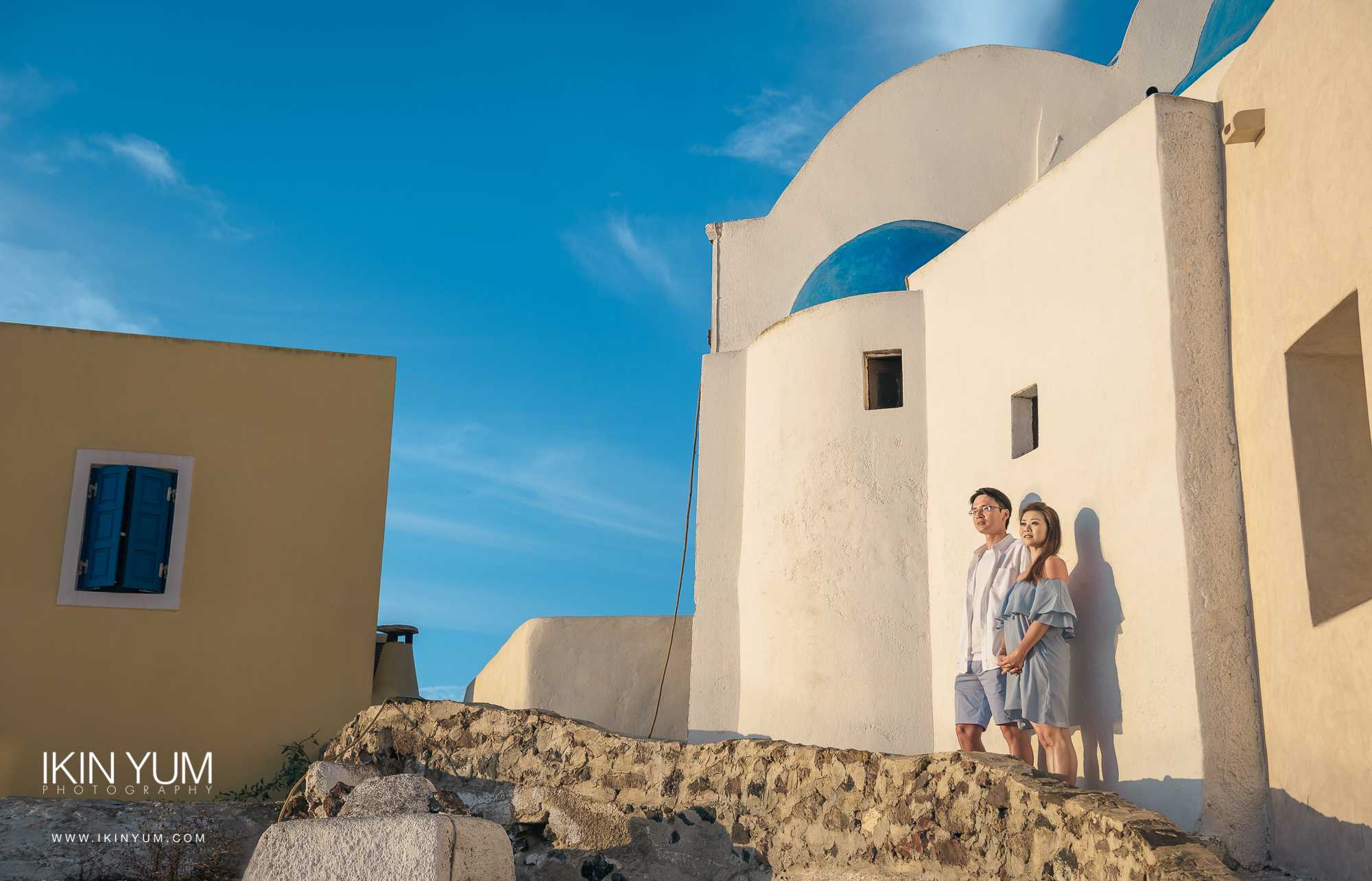Santorini Pre-Wedding Shoot - See more