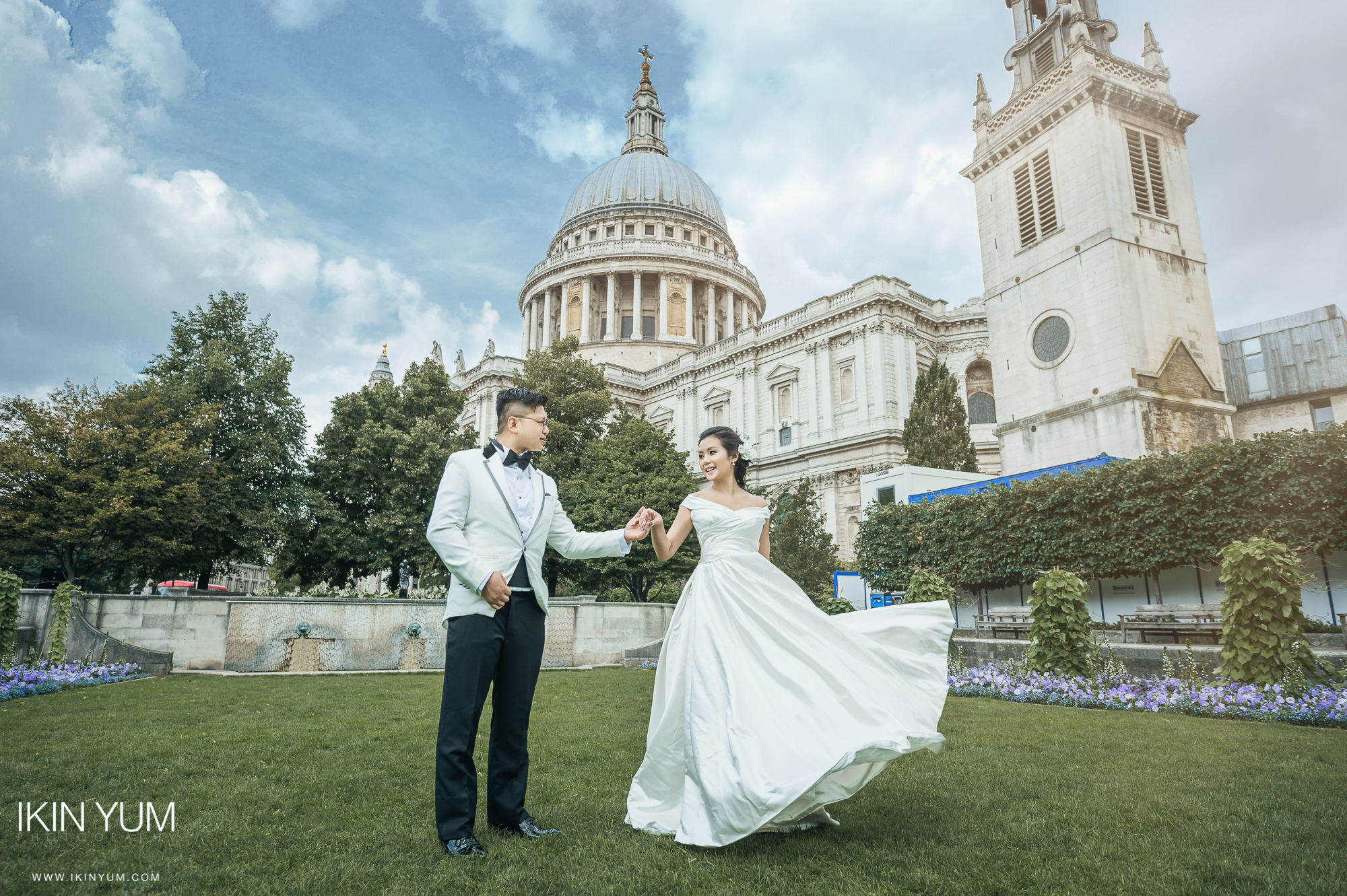 PRE-WEDDING SHOOT LONDON - IKIN YUM PHOTOGRAPHY