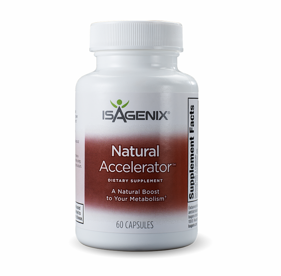 Natural Accelerator - Natural stimulant free fat burner to support thermogenesis and boost metabolism to help you burn fat. Zero Calories. $21-28 Shop