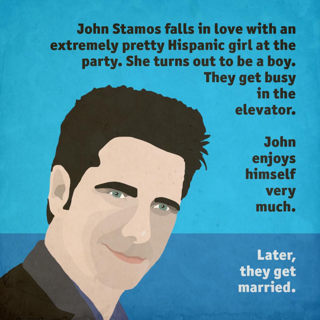 John Stamos Gets Married