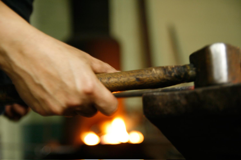 Workshops -  Blacksmithing, Coppersmithing, Drawing