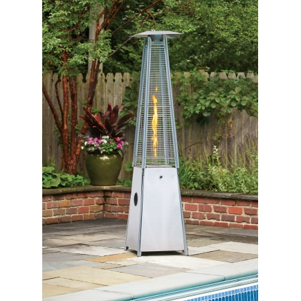 Pyramid Propane Heater  for the chilly Oakland evenings. $269.99