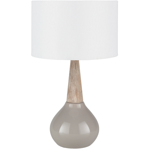 The elegant  Kent Table Lamp  will keep your guest from stumbling around in the dark. $165