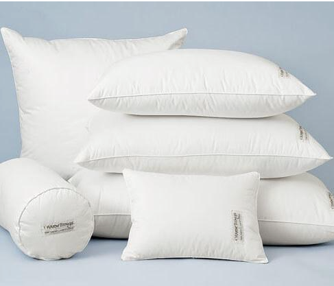 Down Pillow , medium firmness.On sale for $79.29, normally $132.99