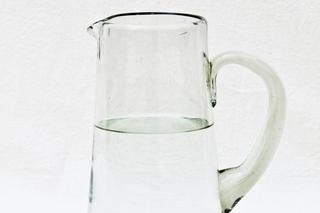 RECYCLED GLASS WATER JUG - Atomic Garden