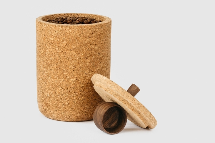 CORK CANISTER + SCOOP - MELANIE ABRANTES DESIGNS