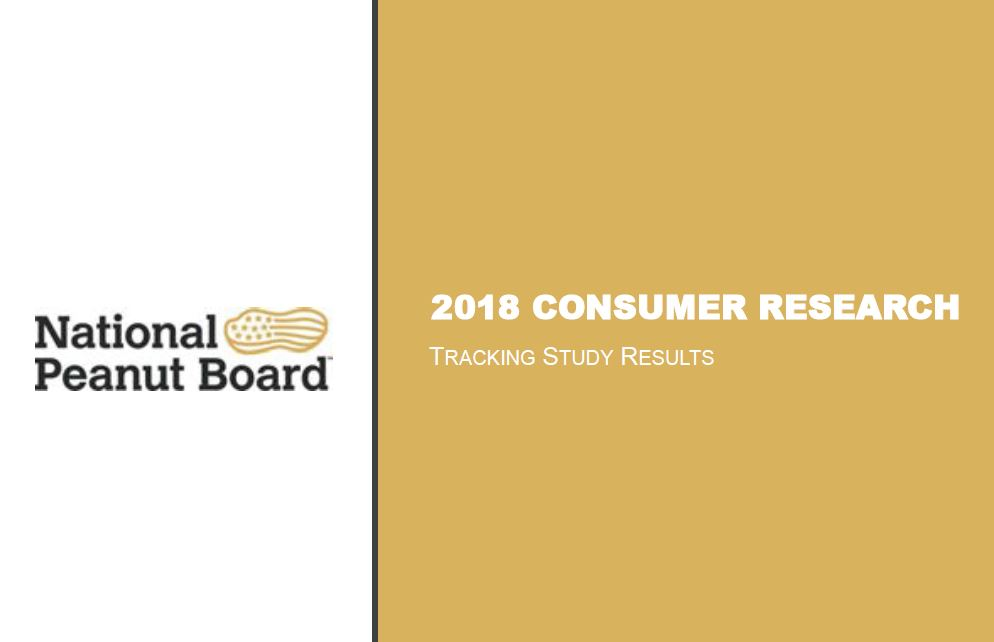 2018 Consumer Research - Brand Tracking Study Results