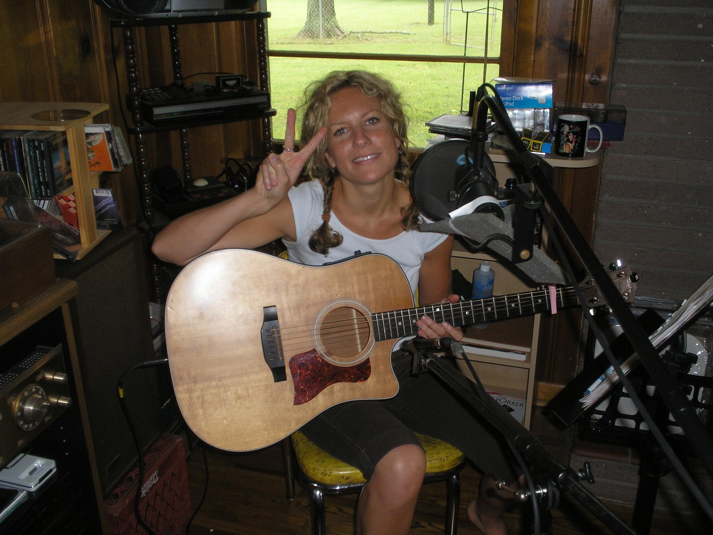 "Recording ""Better"", summer 2006"