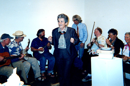 Ruth Braunstein with Richard Shaw's All Star Band c. 2000