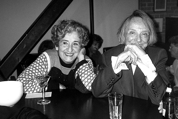 Ruth Braunstein and Paule Anglim c. 1990