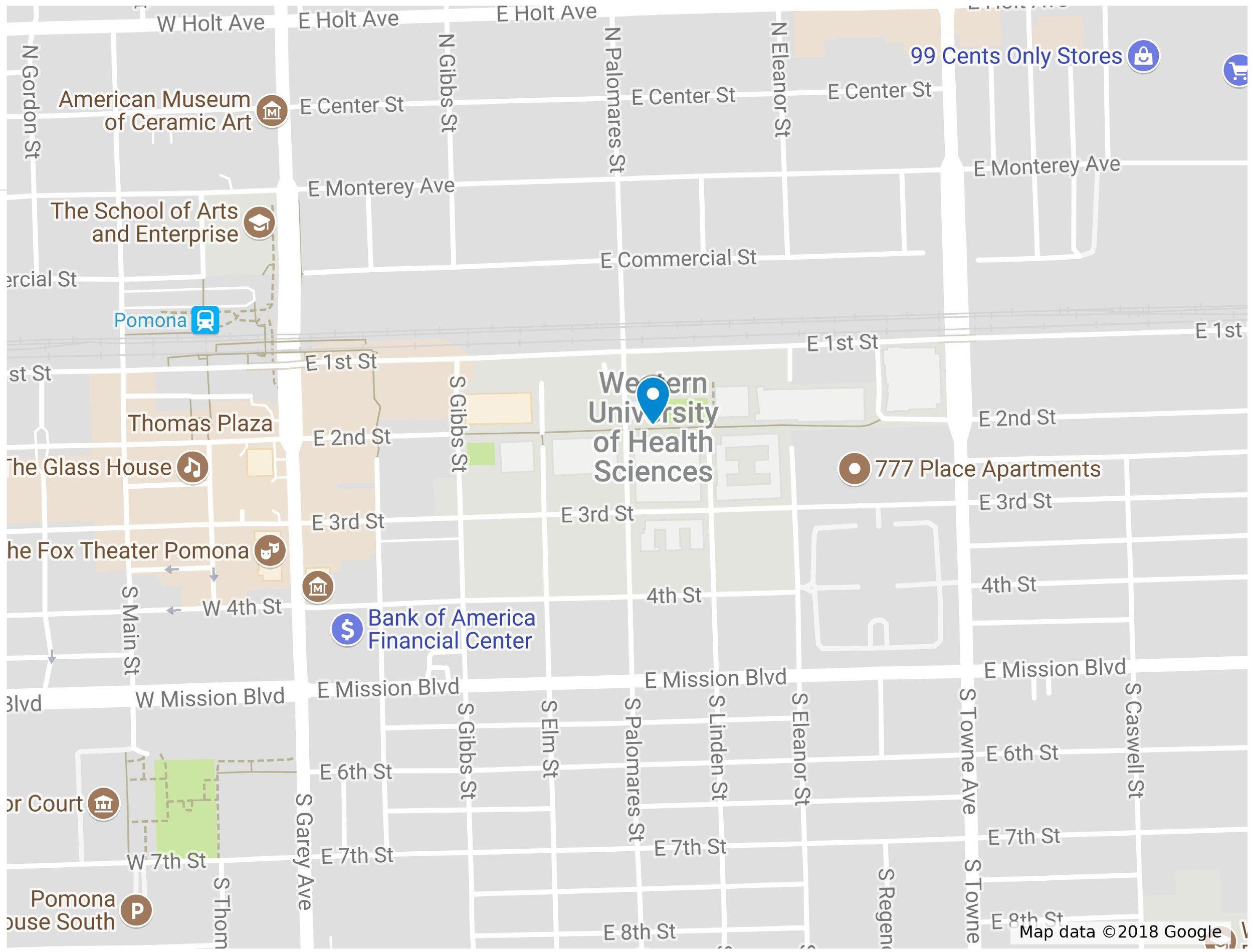 Click on map to go to google map for BOTS training