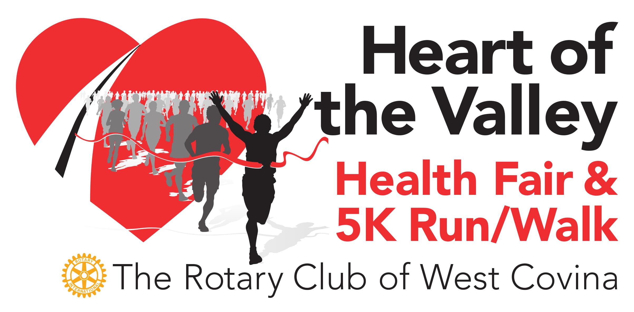 HEART OF THE VALLEY HEALTH FAIR/5K run