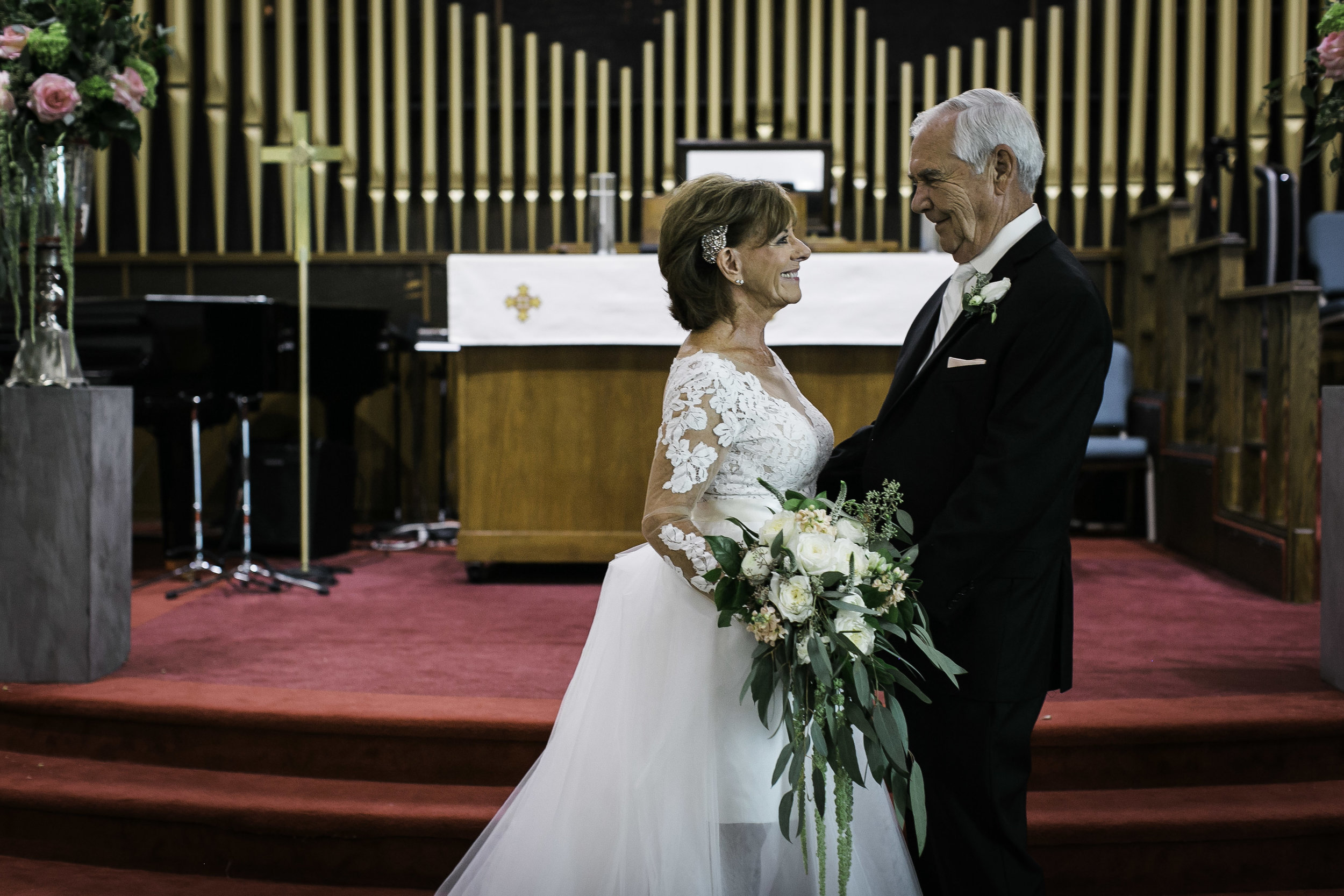 WV Wedding, Marriage, WV Wedding Photographer, Church Wedding, Older Couple, Mature Couple, Wedding Moments, West Virginia Wedding Photographer, Love, Love is Love, Let Love Grow