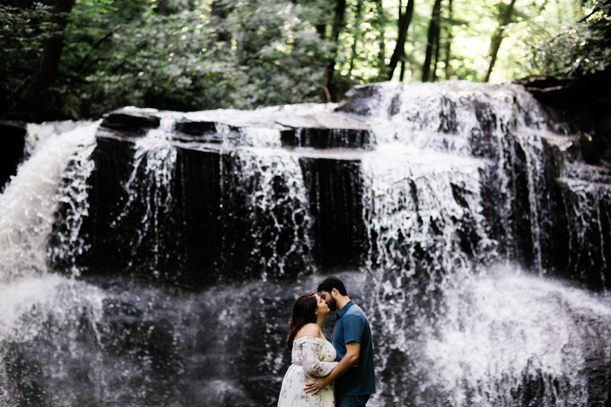A Holly River adventure engagement session. These two lovebirds are getting married next year at an old estate in central West Virginia, but chose to do their engagement session at Holly River State Park - a place that holds a lot of meaning for them.