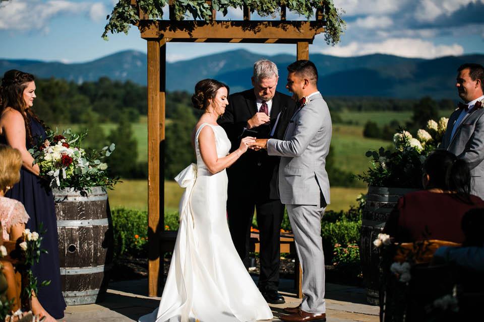 Crosskeys Vineyard Wedding