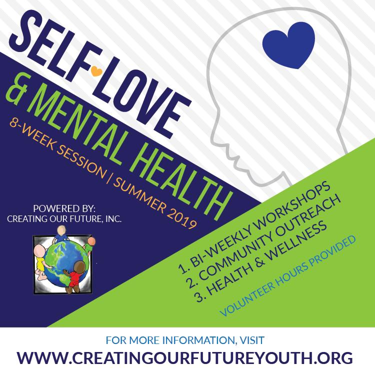 SELF ESTEEM & MENTAL HEALTH *Click on Picture for link to make payment for youth t-shirt $15.00