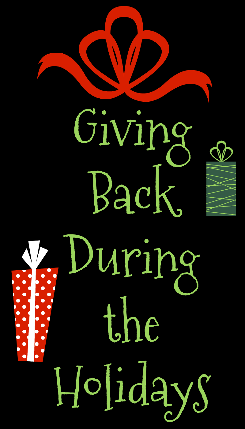 LET THE GIVING BEGIN! -