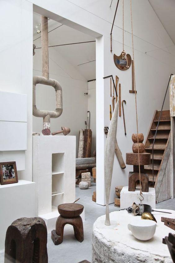 Brancusi's studio