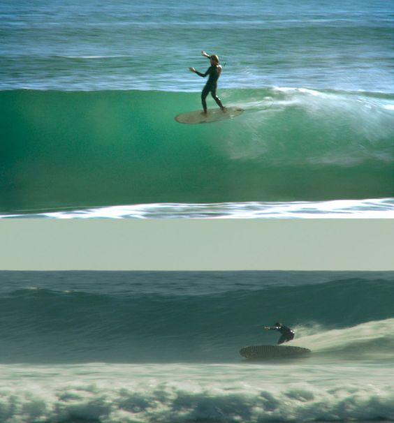 hull adherent Alex Kopps, putting it on a rail at full speed, Rincon