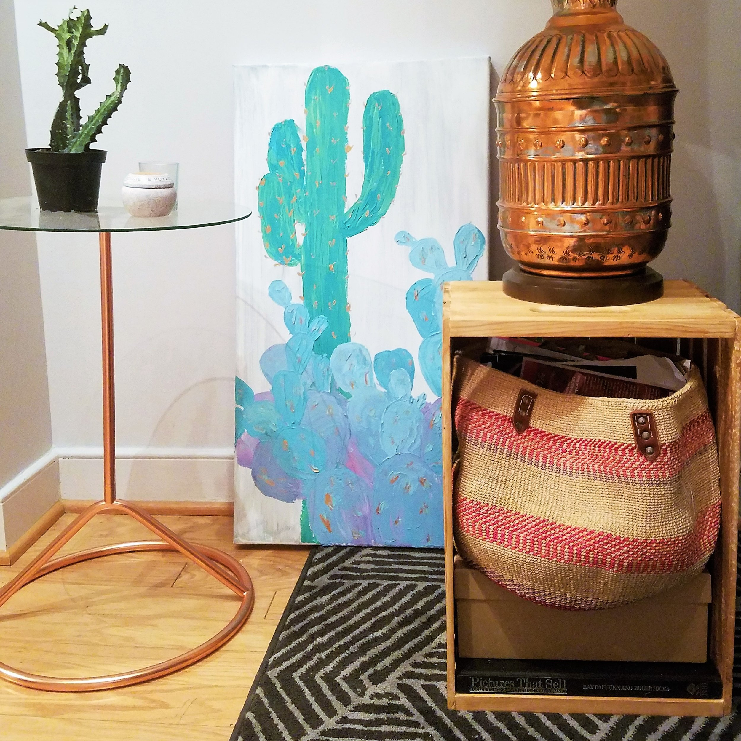 DIY  - SIMPLE WOOD SIDE TABLES