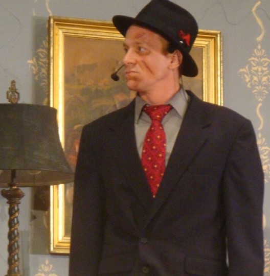 Jonathon Brewster in Arsenic and Old Lace, King Avenue Productions, Spring 2010.