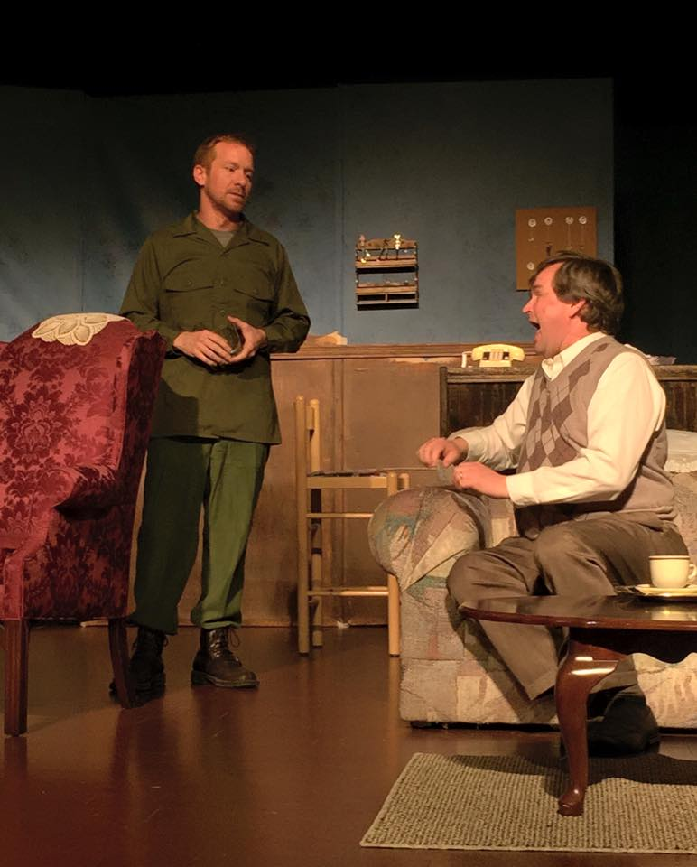Froggy LeSueur in The Foreigner, Star Players Theatre, Spring 2015.