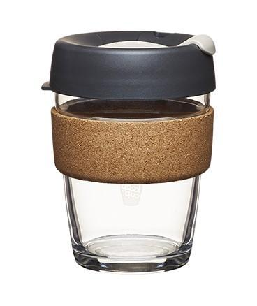 Glass Coffee Cup with Cork Band - KeepCup