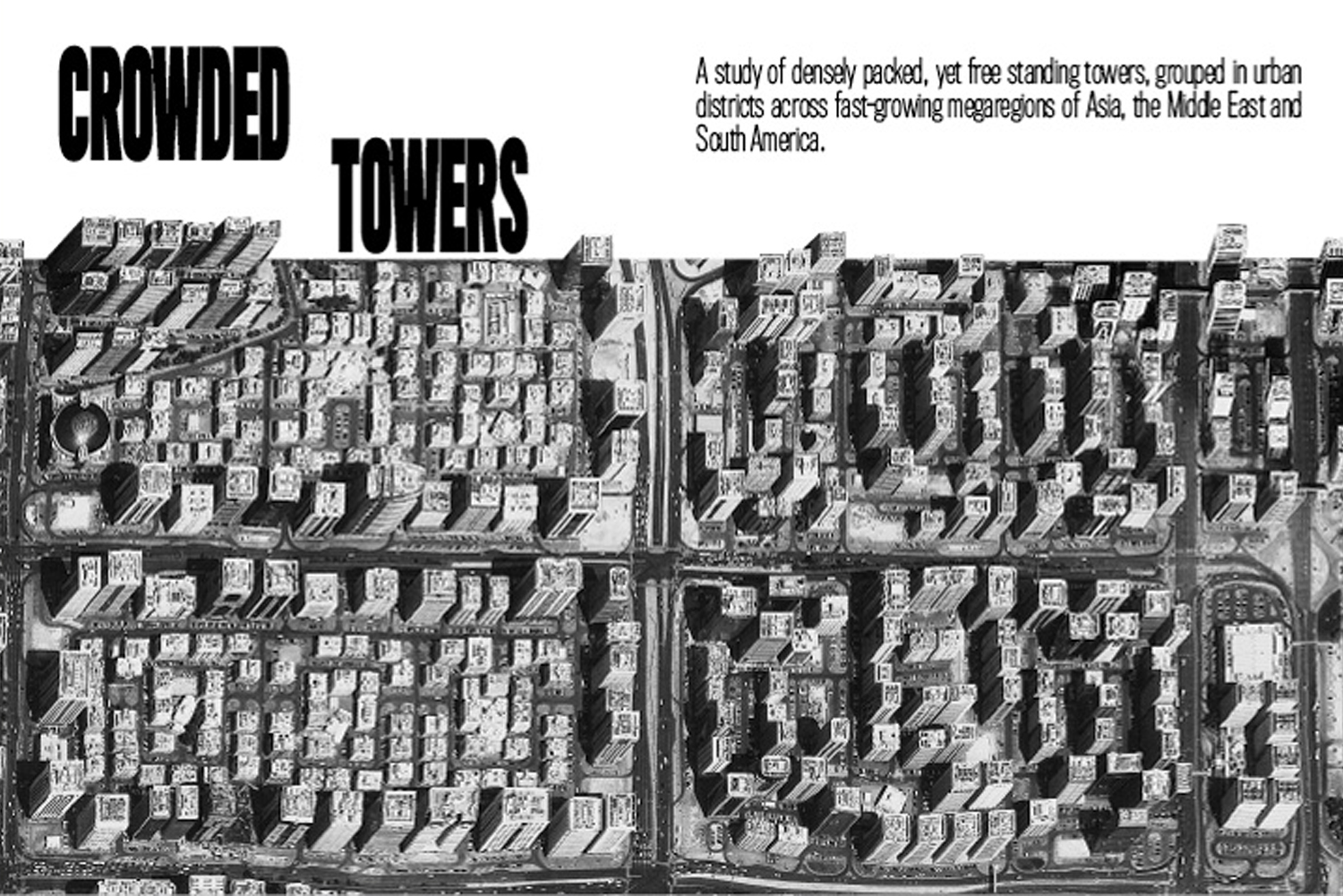 crowded towers