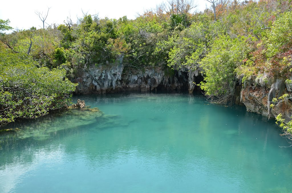 Blue Grotto Pond Photo: Andy Triggs via Panaramio