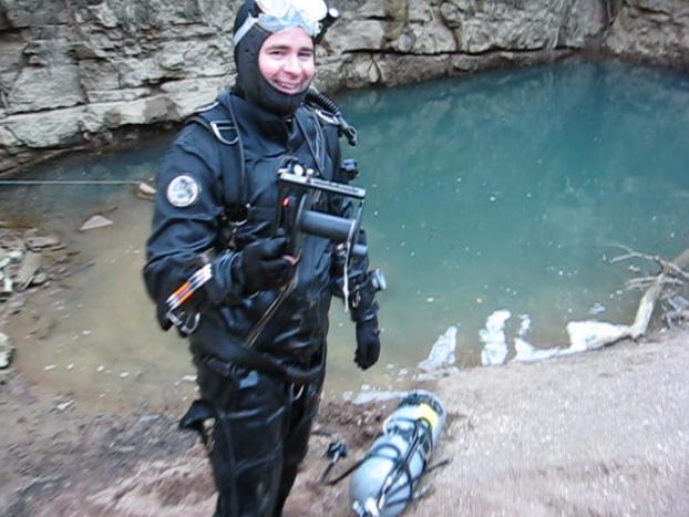 Jason, after a successful dive in the downstream side of the system.