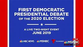 Love that debate environment? Come to our debate watch parties in June and July and see our candidates discuss the issues that face our country.