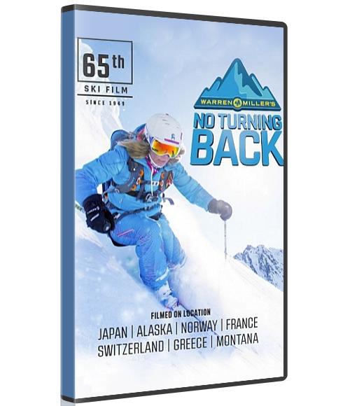 WARREN MILLER'S NO TURNING BACK (Physical Copy) -