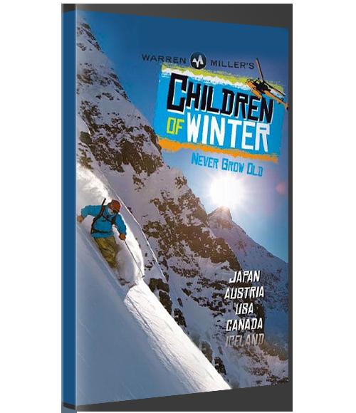 WARREN MILLER'S CHILDREN OF WINTER (Physical Copy) -