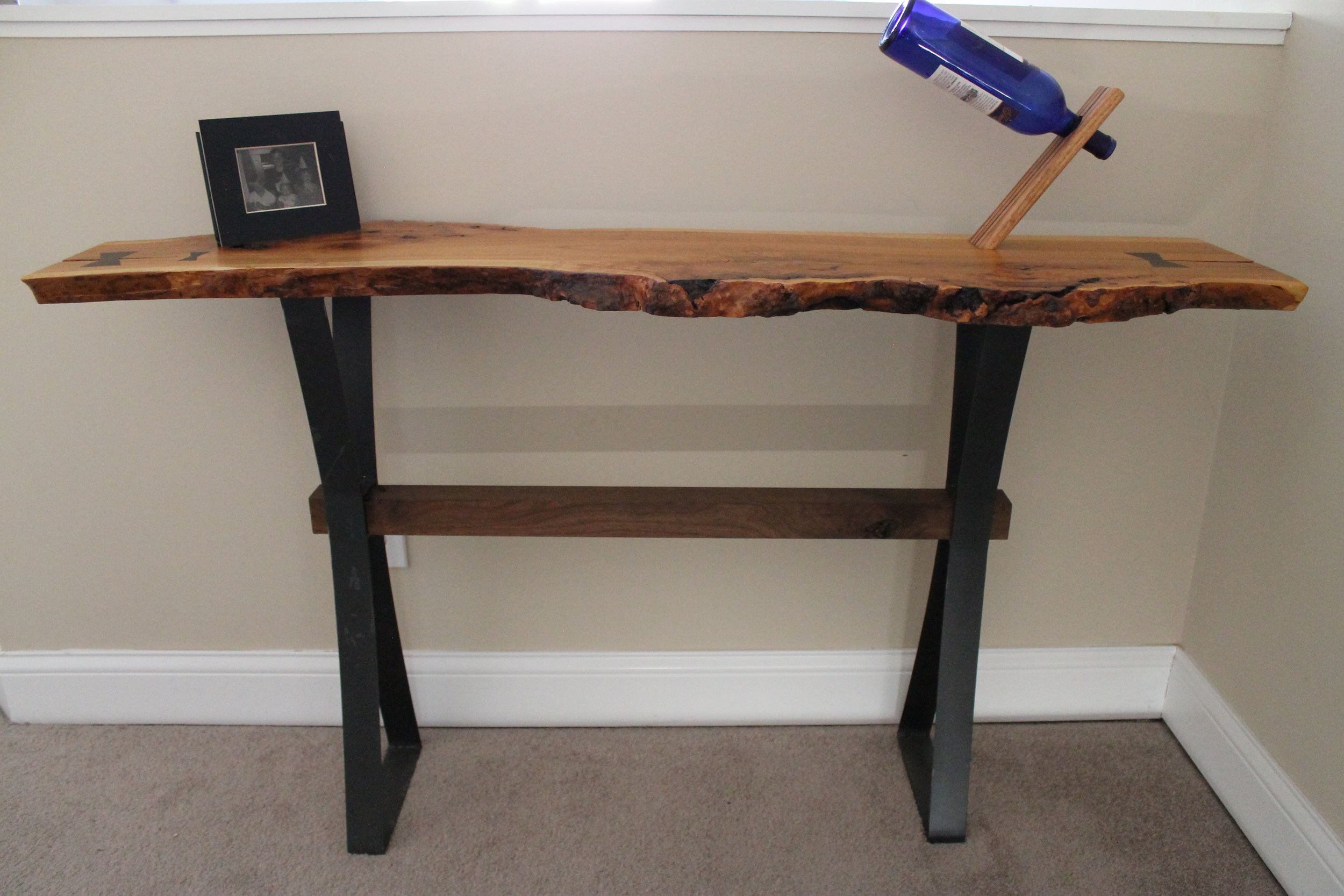 Live Sawn Entry Table