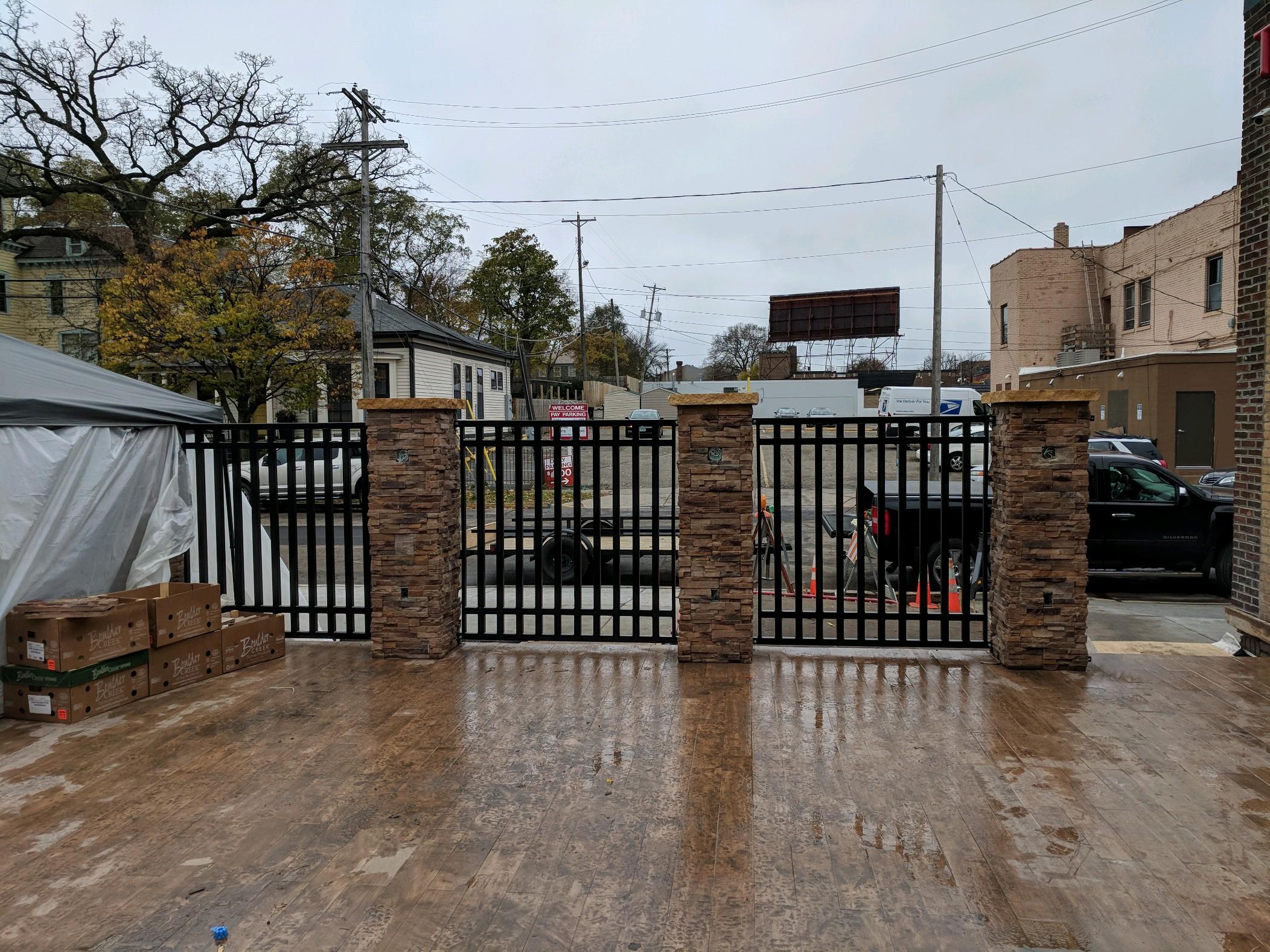 Exterior Fence Work