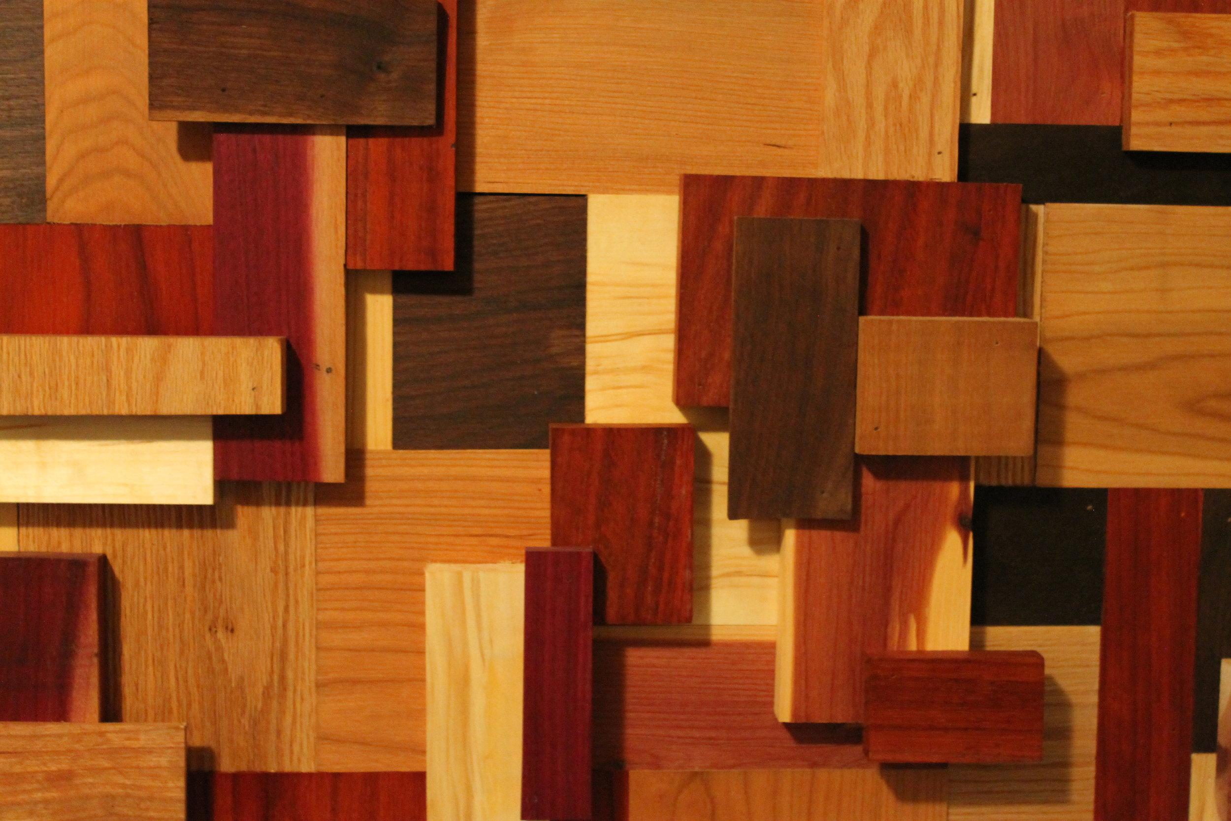 Scrapwood Headboard