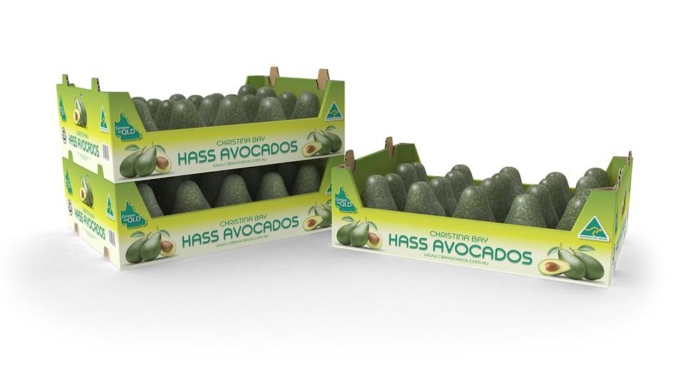 Stackable Avocado Tray