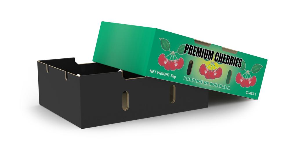2-Piece 5kg Cherry Box