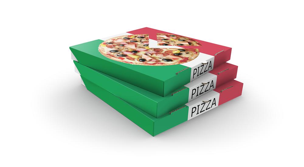 Printed Pizza Cartons