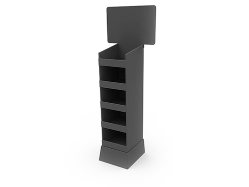 5 Shelf Slim Tower