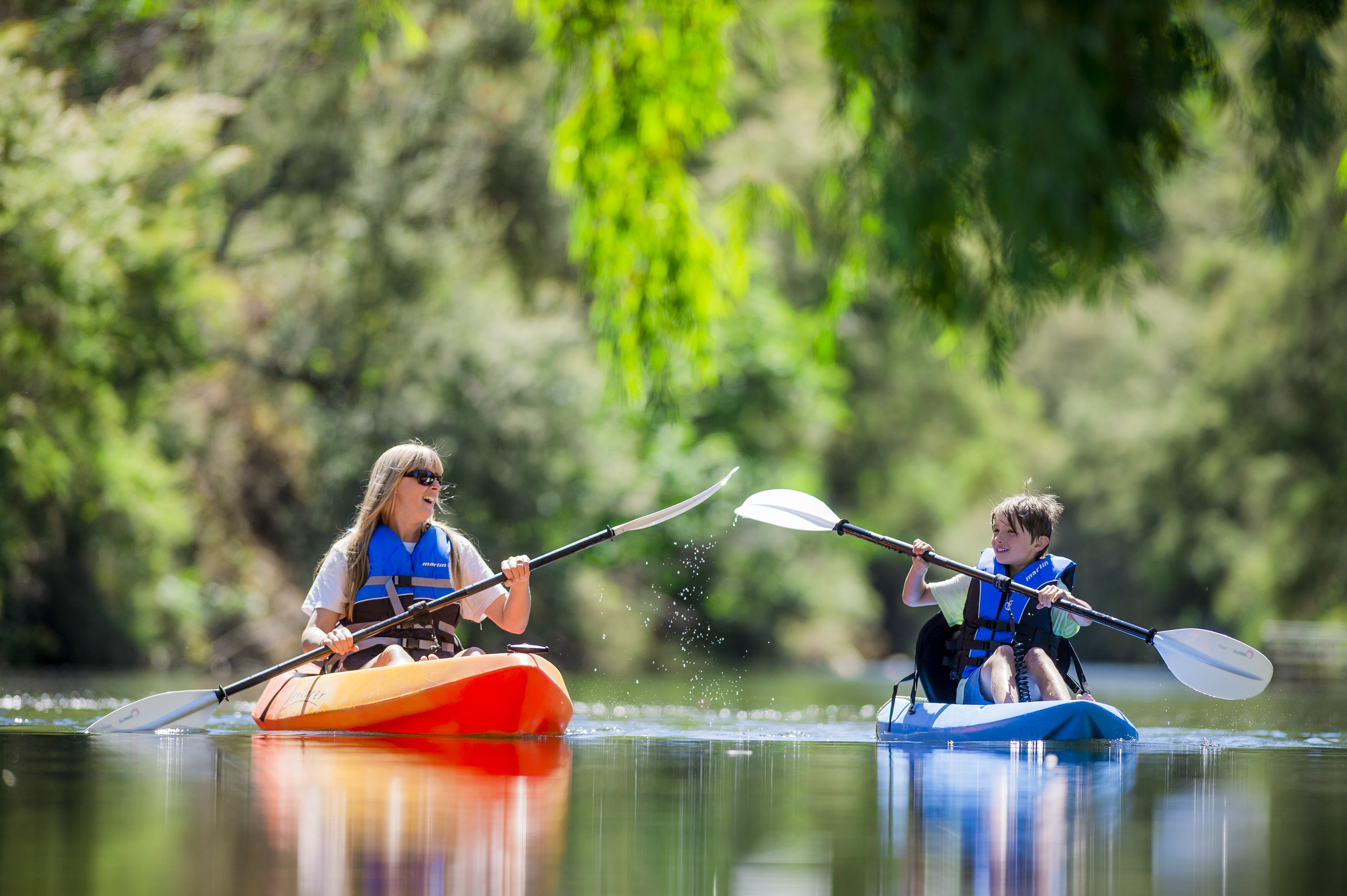 Kayaking the Ovens River
