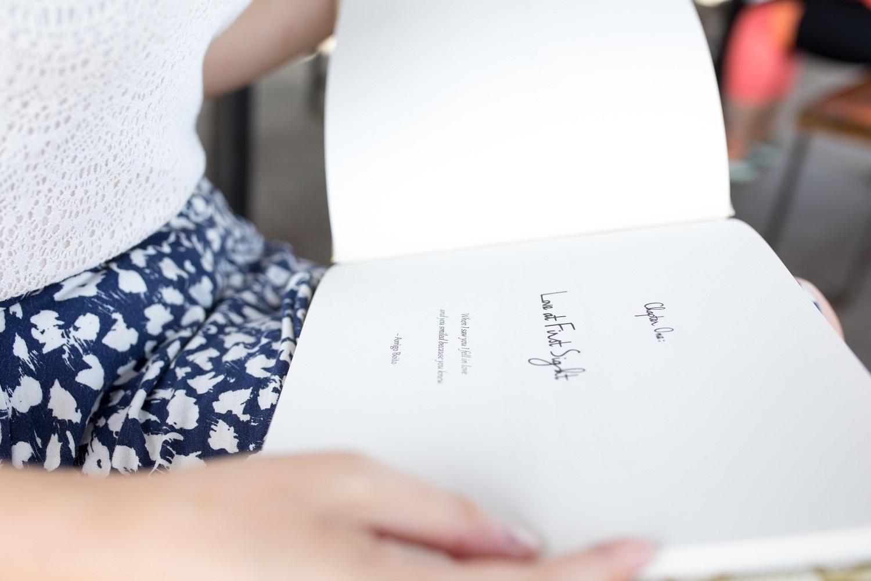 Claire Allegra custom memory books