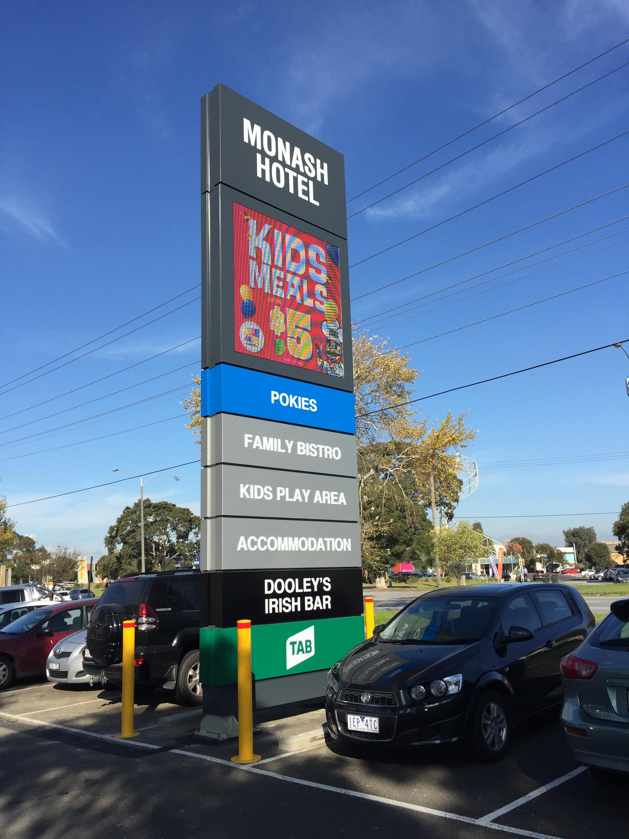 Bentleigh Group Australia Led Digital signage hotel signage