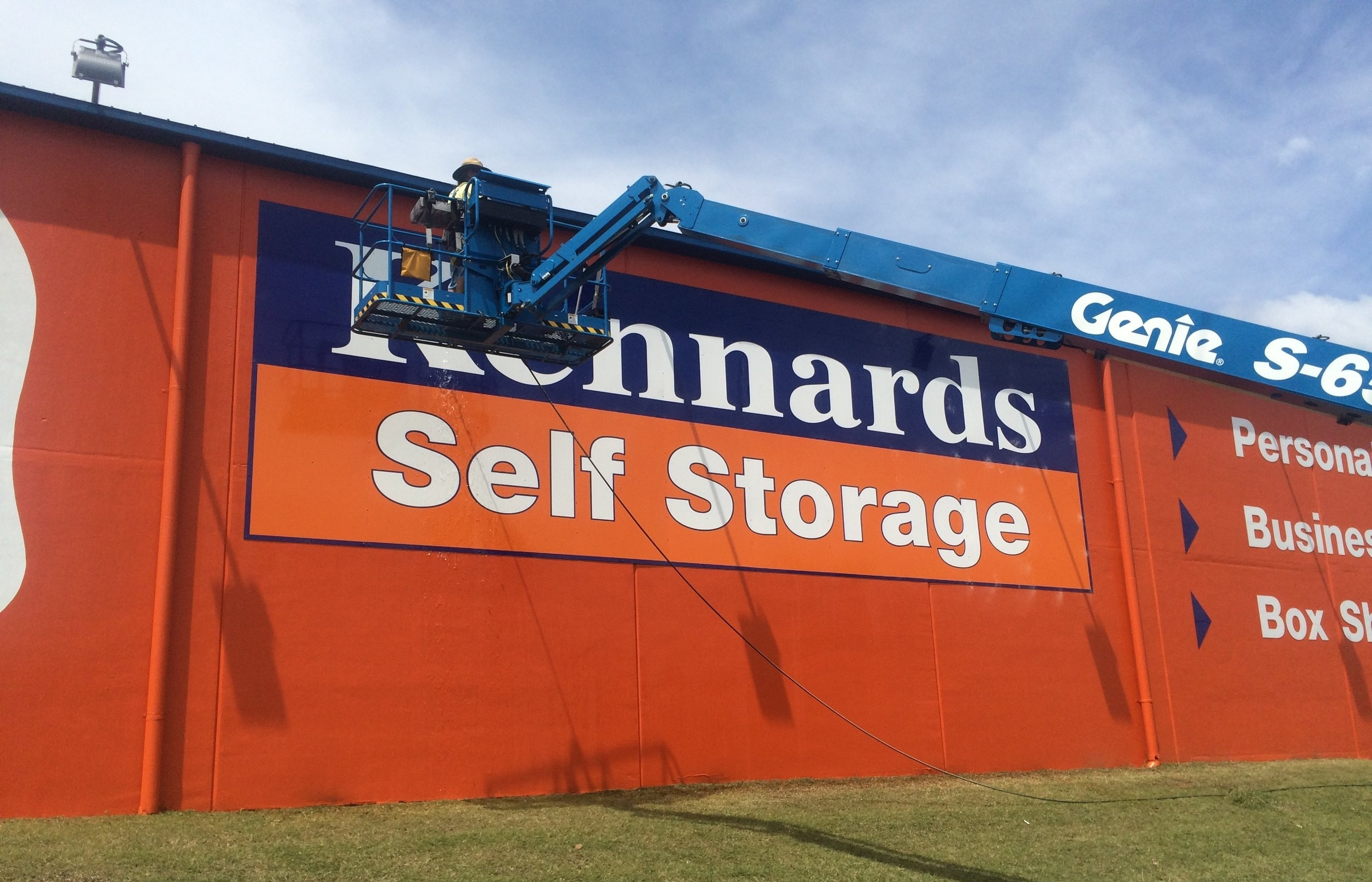 Bentleigh Group signs Bentect maintenance sign cleaning sign upgrades repairs