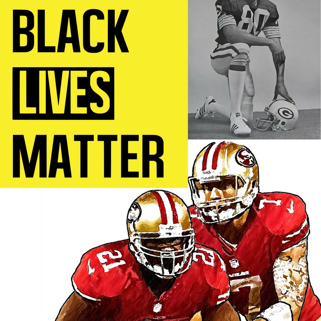#TakeAKnee - Colin Kaepernick took a knee during the National Anthem to protest the unjust system of police brutality and racism in America. A year later, many other NFL players have followed his lead.But in the presidency of Trump, is taking a knee disrespecting America or standing up for rights?