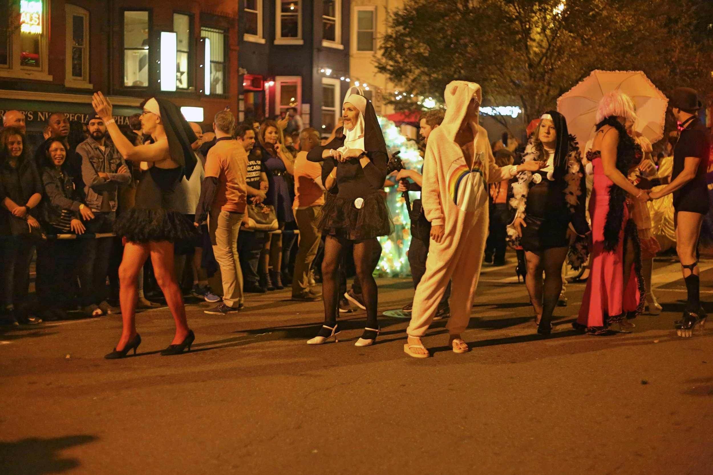 The 17th Street High Heel Race - An annual high heel race in Dupont Circle that is inclusive for all